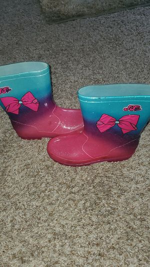 Jojo Siwa Rain Boots for Sale in Houston, TX