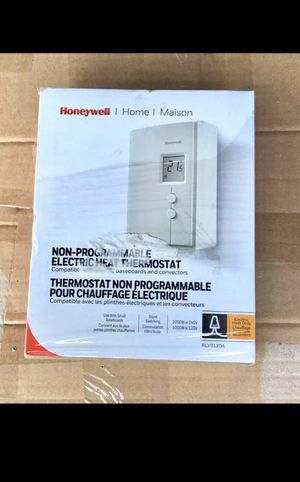 NEW HONEYWELL THERMOSTAT Digital Non-Programmable For Electric Baseboard Heating Convectors Radiant Ceilings for Sale in Westerville, OH