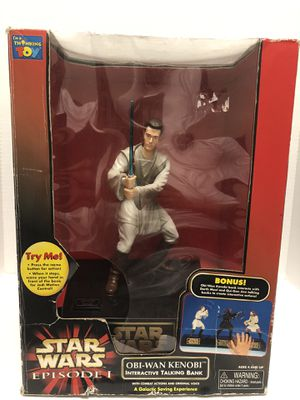 Star Wars Obi-Wan Interactive Talking Bank for Sale in Irvine, CA