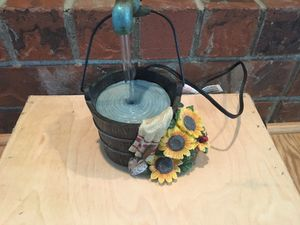Decorative water pump fountain for Sale in East Wenatchee, WA