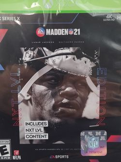 Madden 21 Series X for Sale in Seattle,  WA