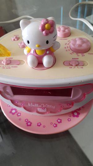 Hello kitty clock for Sale in Tustin, CA