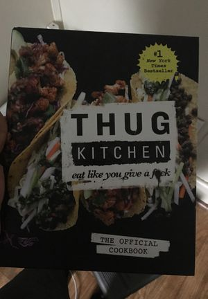 Thug cooking cookbook for Sale in Worcester, MA
