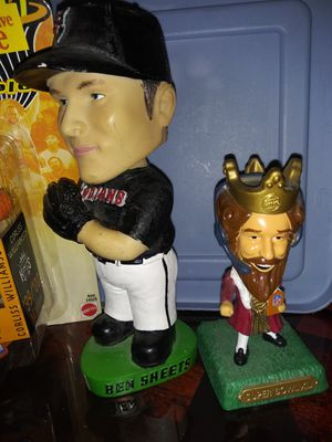 Bobble head. And NBA jam packaged Corless Williamson action figure for Sale in Philadelphia, PA