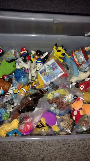 Box of McDonald's happy meal toys for Sale in Leesburg, FL