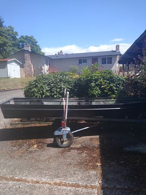 As is aluminum Jon boat for Sale in Vancouver, WA