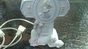 Precious Moments Religious Christian Cross Night Light The Lord is my Shepherd for Sale in Aurora, IL