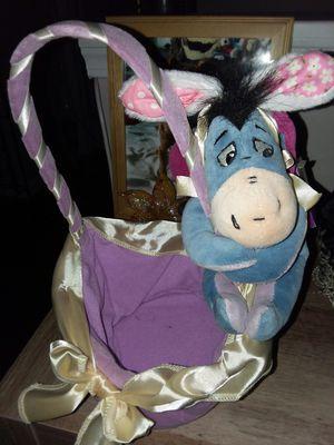 Disney store exclusive eeyore easter basket for Sale in Webster, NY