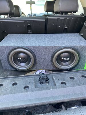 """2 10"""" subs in box for Sale in Chicago, IL"""