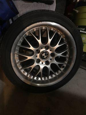 "BMW 2 piece BBS STYLE 42 17"" rims for Sale in Clovis, CA"