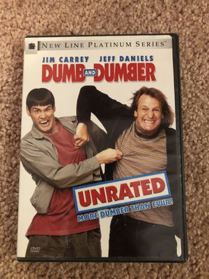 Dumb & Dumber Unrated DVD for Sale in Victoria, TX