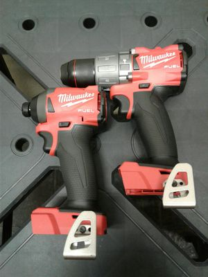 NEW MILWAUKEE M18 FUEL HAMMER DRILL AND FUEL IMPACT DRIVER TOOLS ONLY for Sale in Casa Grande, AZ