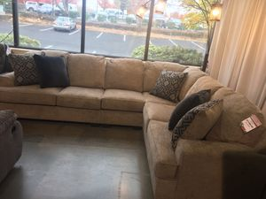 Sectional with Seat Extension Black Friday Sale for Sale in Portland, OR