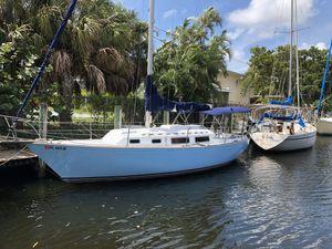 1977 Sabre 28 Sailboat - New Bimini Top! for Sale in Fort Lauderdale, FL