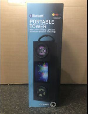 Portable tower speaker for Sale in Columbia, MO