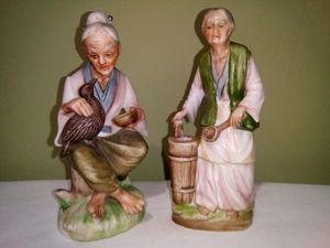 Napco C-6140&1G5453 Porcelain Bisque Figurines Made in Japan for Sale in Lorton, VA