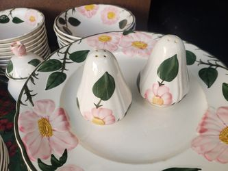 Villeroy and boch pattern wild rose pattern for Sale in Silver Spring,  MD