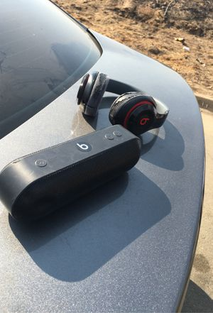 Beats pill+ and beats headphones for Sale in Fresno, CA