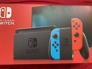 New! Nintendo Switch Neon/Blue 32GB for Sale in McLean, VA