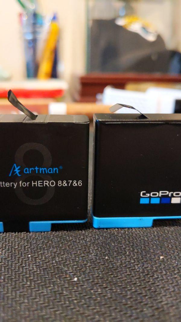 GoPro batteries