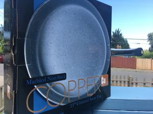"""Inspired Home Copper 11"""" covered sauté pan for Sale in SeaTac, WA"""