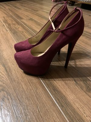 Just fab heels size 8 for Sale in Bakersfield, CA