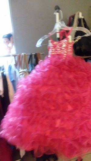 Beautiful hot pink dress for Sale in Naples, FL