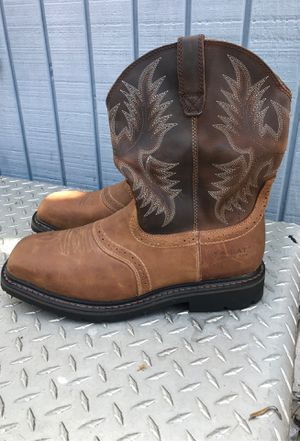 ARIAT Sierra Wide Square Toe Steel Toe Work Boot Size 12 for Sale in Marina del Rey, CA