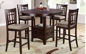 Counter table 4 barstools for Sale in Mill Creek, WA