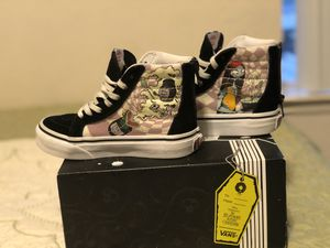 Toddler Nightmare before Christmas Vans 10.5 c for Sale in Fresno, CA