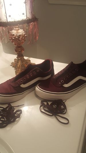 Burgundy color vans for Sale in Greenville, SC
