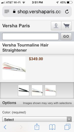 Versha tourmaline hair straightener for Sale in Henderson, NV