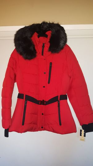 New Authentic Michael Kors Women's Puffer Coat With Removable Hood Size Extra Large 🎁🎅🎁 for Sale in Montebello, CA