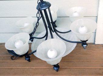 Beautiful Six Light Chandelier Fixture for Sale in Snohomish,  WA