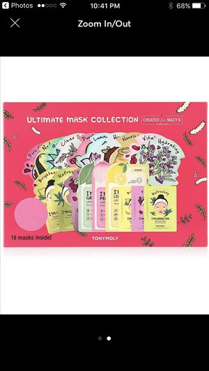 Tony Moly Korean face masks 19 pcs for Sale in Sterling Heights, MI