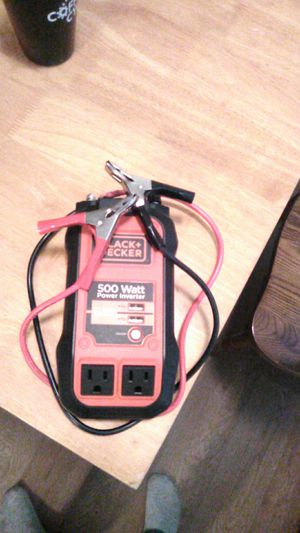 500 watt power inverter for Sale in San Diego, CA