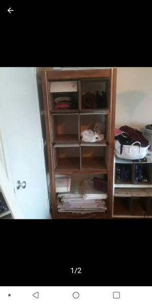 Shelf| wood shelf| 5 row & Solid for Sale in Dallas, TX
