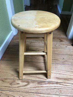 Wooden stool for Sale in Berkeley, CA