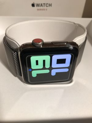 Apple Watch SS 42mm GPS/LTE Series 3 for Sale in Fontana, CA