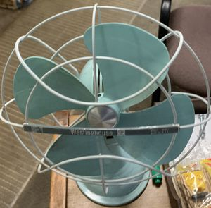 Vintage Westinghouse Oscillating Electric Fan 1950's/1960's USA for Sale in Pomona, CA