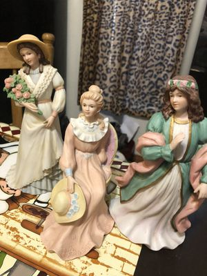 Home interiors (homco) porcelain dolls for Sale in Dallas, TX