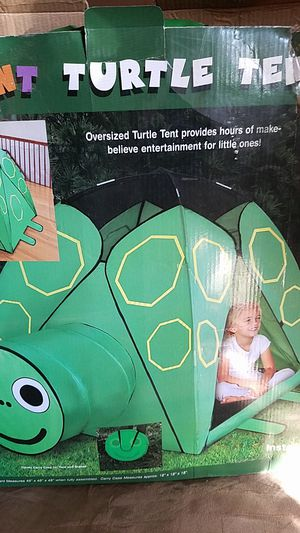 Giant turtle tent...good condition ....east side..$10 for Sale in Bakersfield, CA