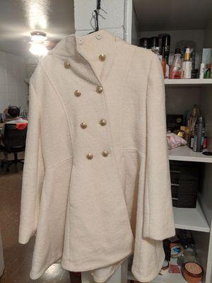 Liz claiborne XL off white parka - brand new/never worn for Sale in Baton Rouge, LA