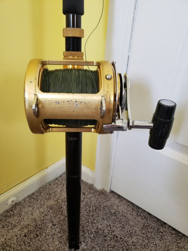 Penn Reel International II 50TW Rod And Reel