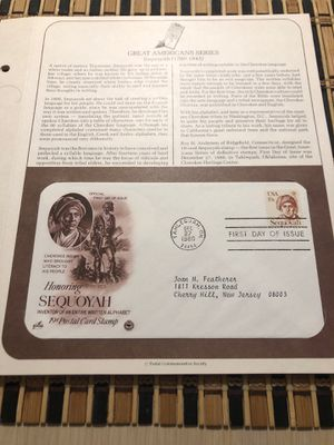 Lot of 10 First Day Covers On a Story Card Preowned From an Estate (Pack-44) for Sale in Berlin, NJ