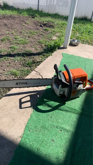 Very clean stihl chainsaw trade for dirtbike for Sale in Eagle Point, OR