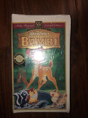 Bambi VHS for Sale in Los Angeles, CA