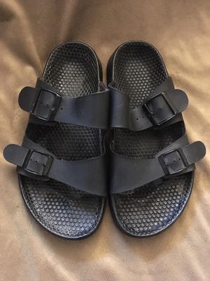 Birkenstock's Birki's Black Buckle sandals for Sale in Hurst, TX