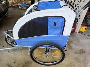 Dog Bike trailer w Adapter for Sale in Largo, FL