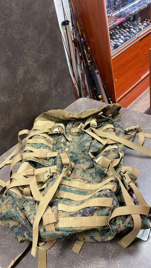 Property of Navy Camouflage Backpack for Sale in Whittier, CA